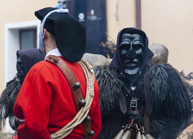 Issohadores Mamuthones mask