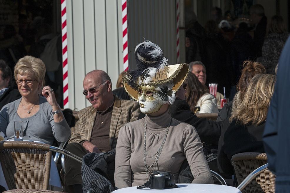venice carnival Coffee Mask