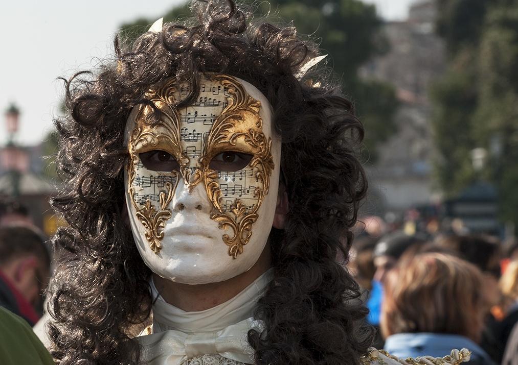 venice carnival Music Face