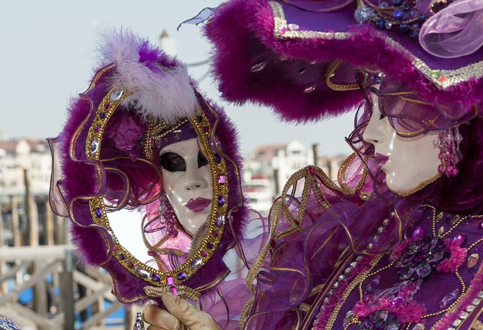 carnevale di venezia Silver Girl