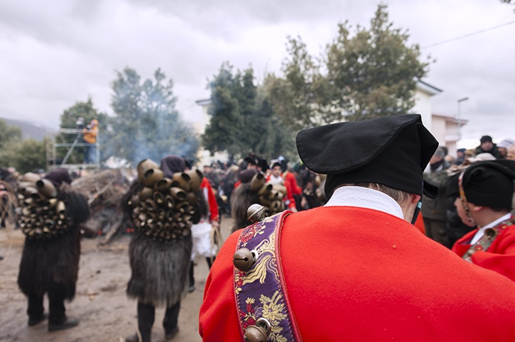 Issohadores Red Coats Mamuthones