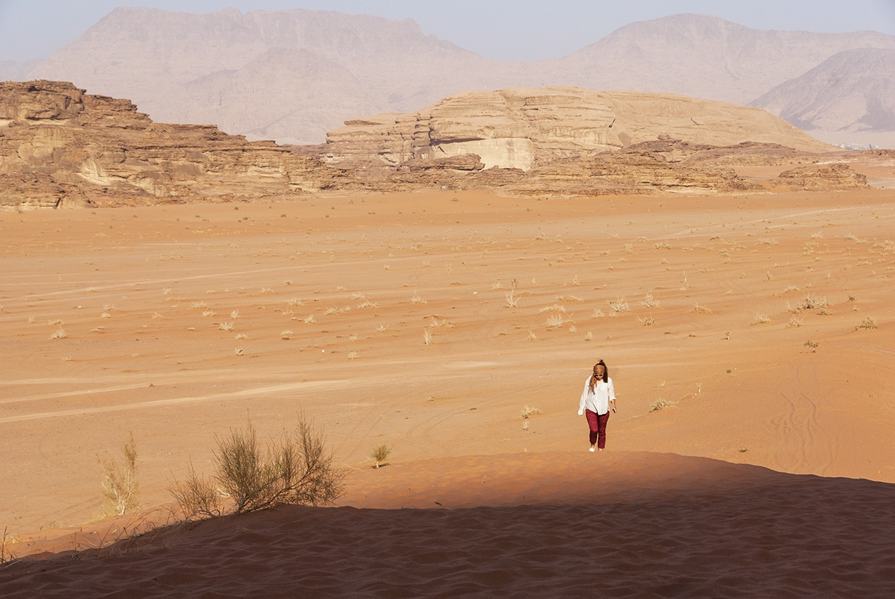 adventure activities wadi rum trekking