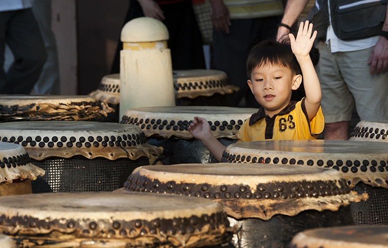 Penang Chinese New Year Drummer boy