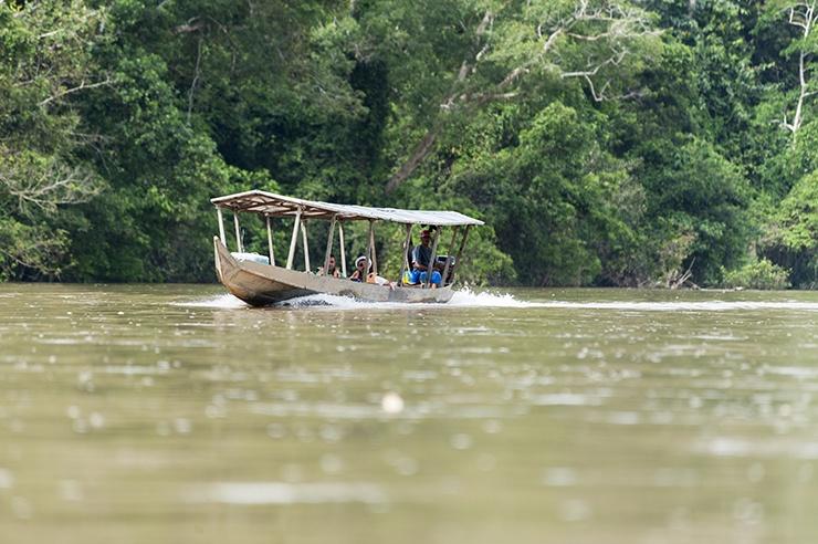 Taman Negara River Boat