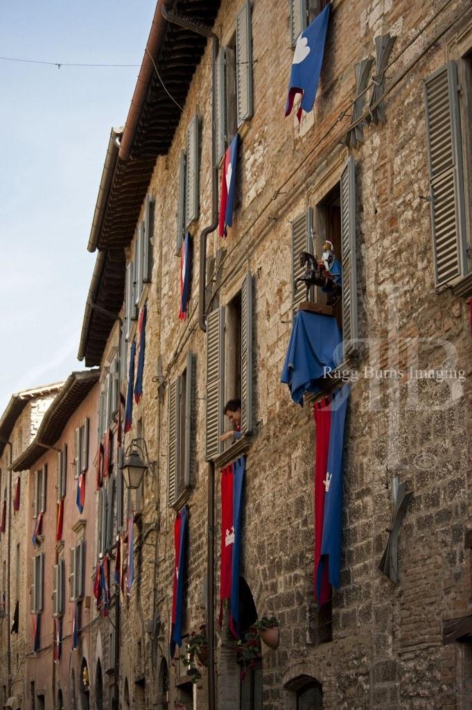 Ceri Di Gubbio Street Decorations