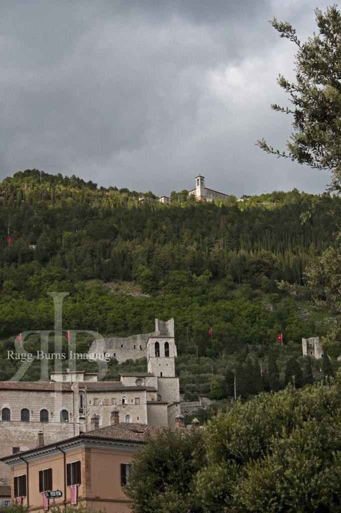 Ceri Di Gubbio Top of the Hill