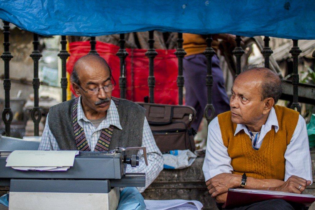 Calcutta street typers