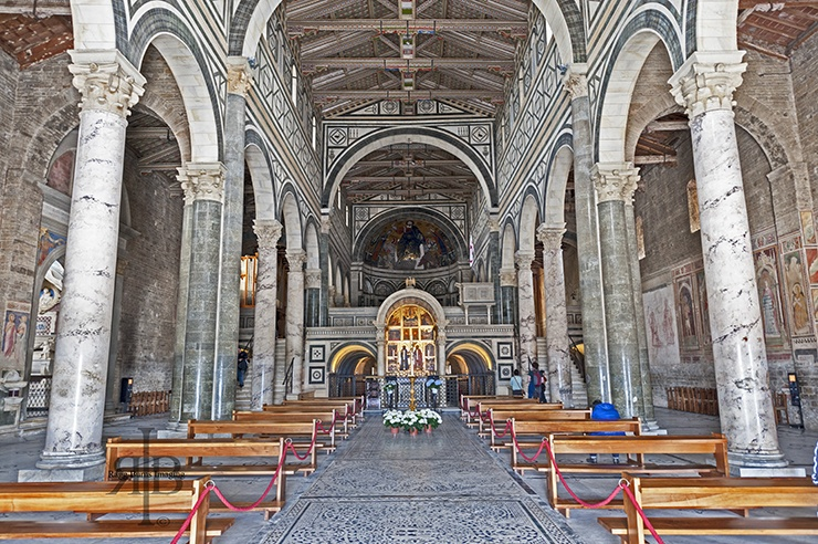 Florence Inside Miniato Church