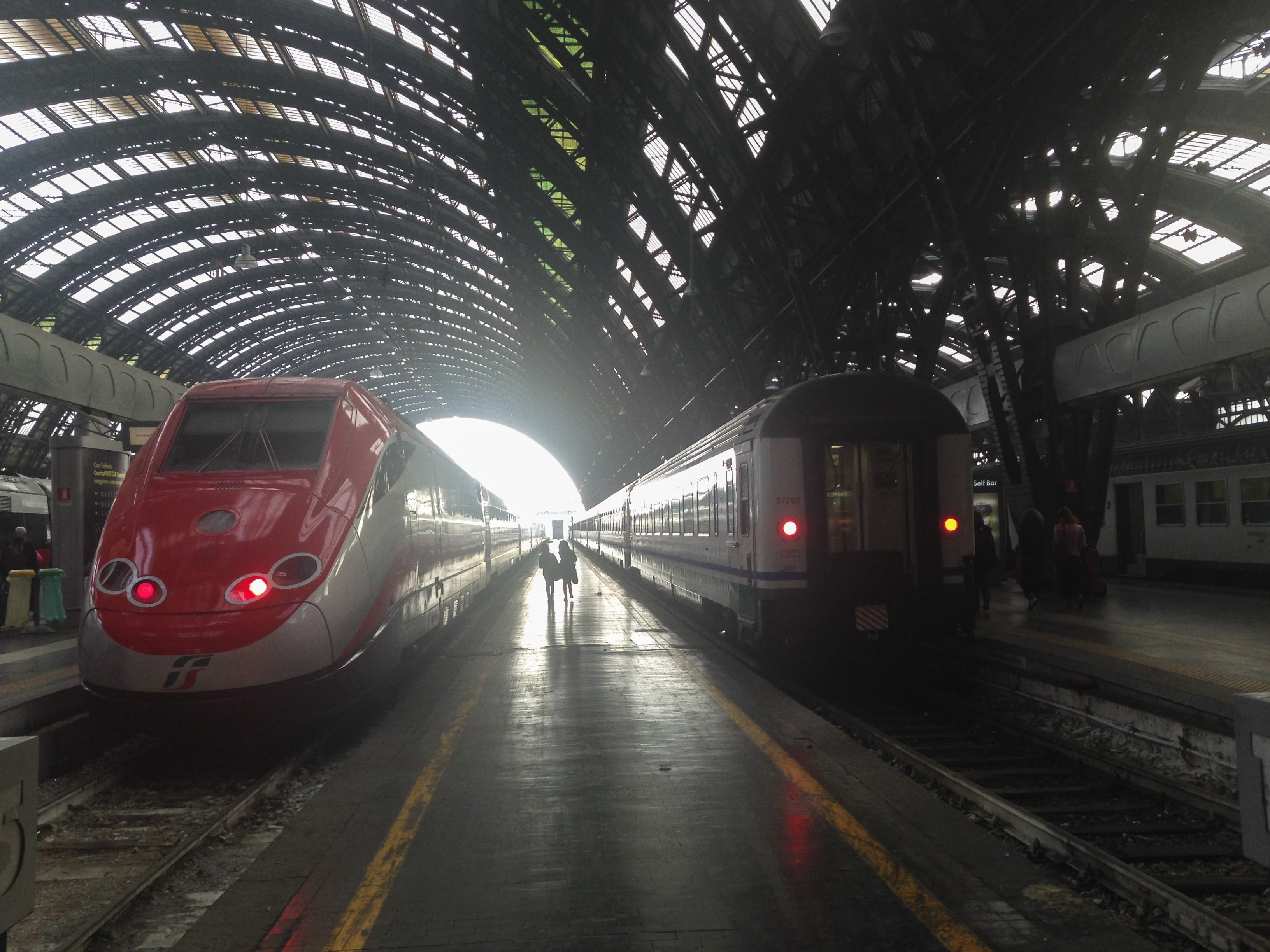 Freccia and Regionale trains