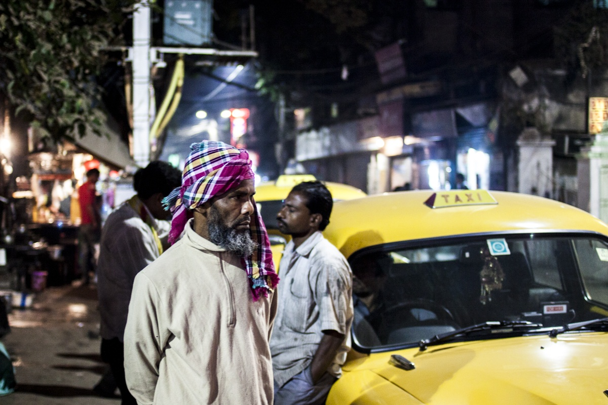 Calcutta Taxi drivers