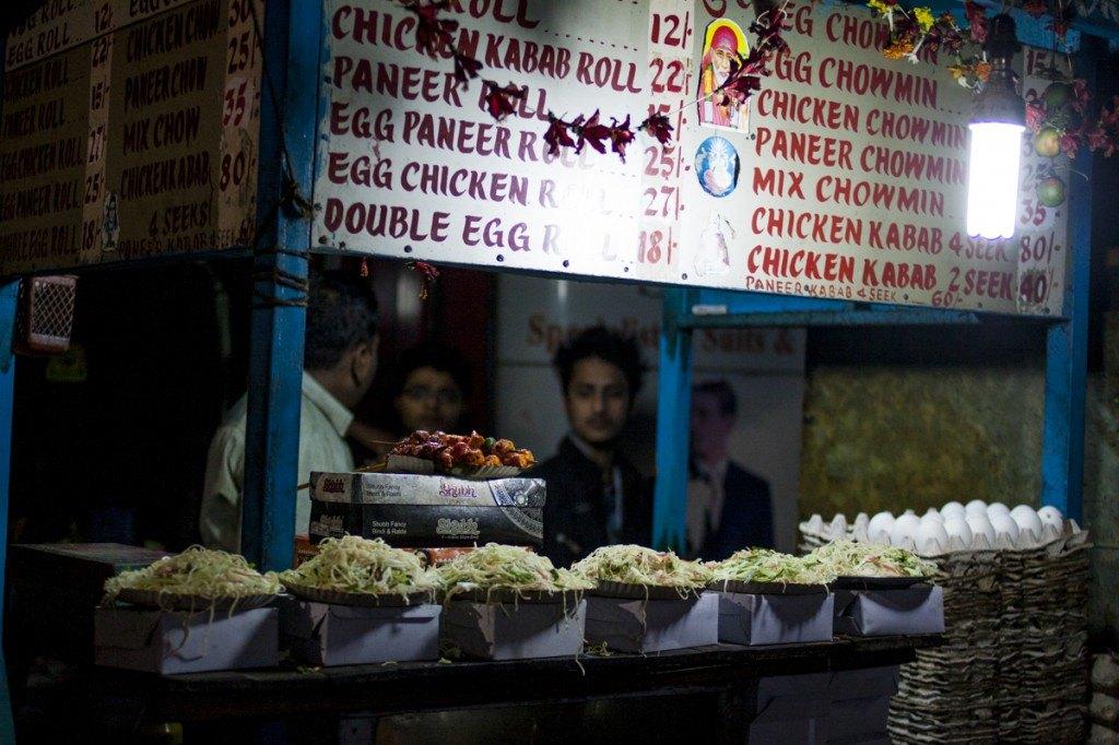 Calcutta street food