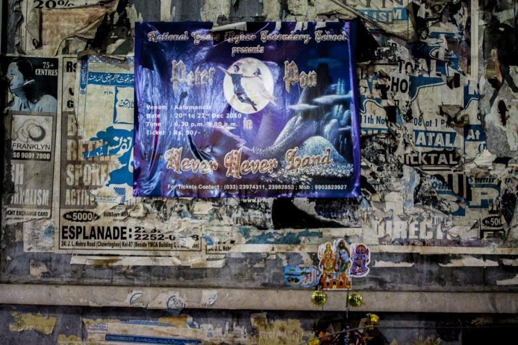 Calcutta wall