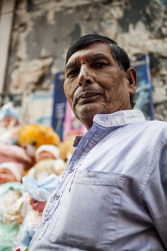 Calcutta man portrait
