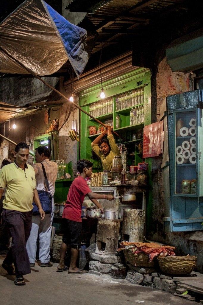 Calcutta chai alleyway