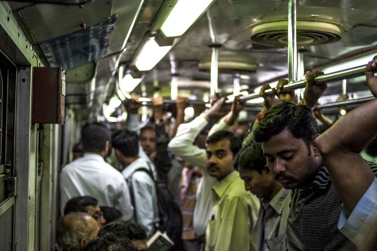 Calcutta underground train
