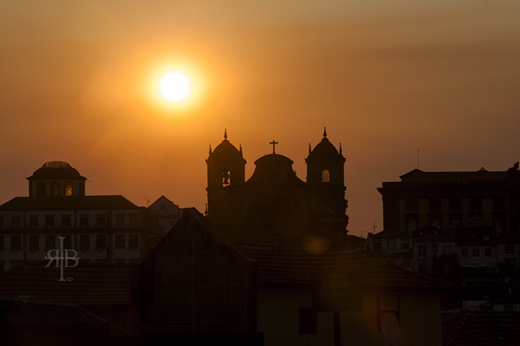 Porto Church Sunset