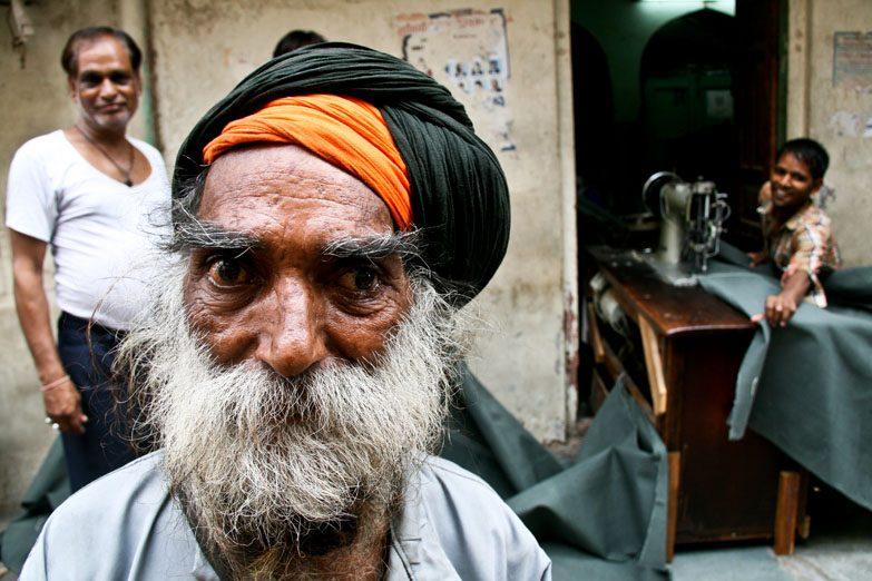Varanasi crazy man