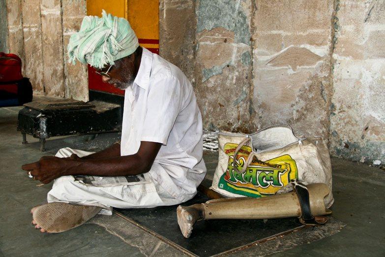 Varanasi prosthetic leg
