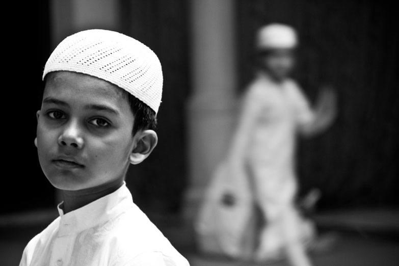 Varanasi Muslim boy