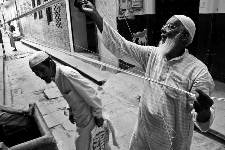 Varanasi Muslim weavers madanpura