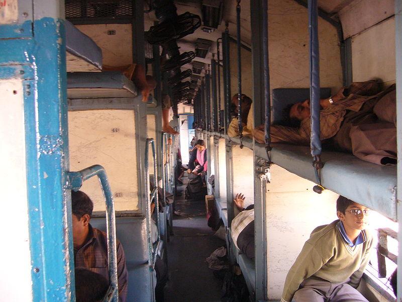 Indian Sleeper Class coach