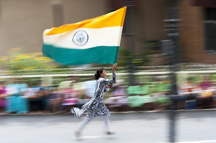 India Border Flag Relay