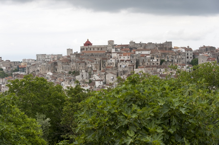 Italy Puglia Vico Del Gargano view