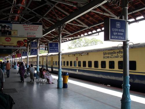 Mysore indian train station