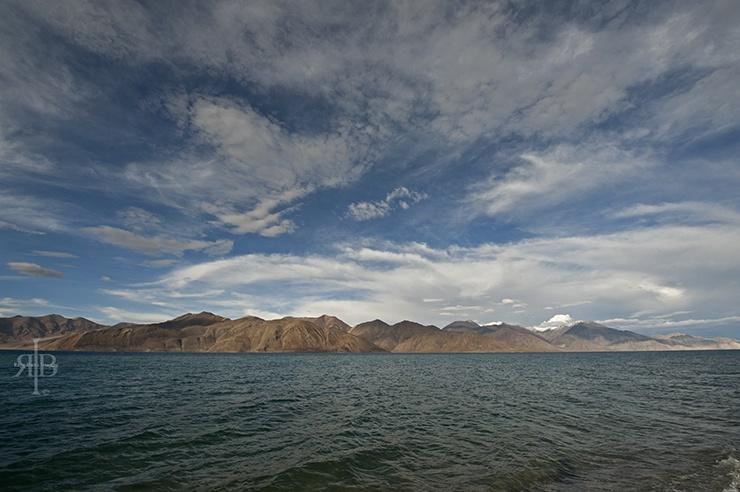 India Pangong Lake water