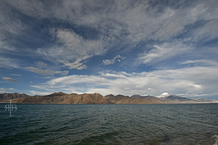 India Pangong Lake water