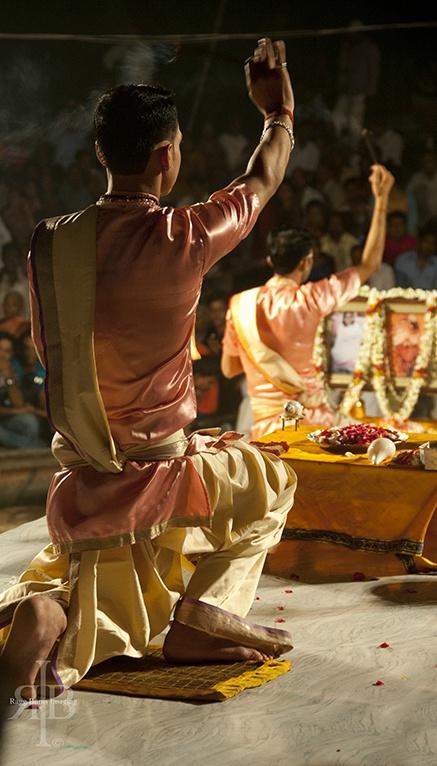 India Varanasi puja incense