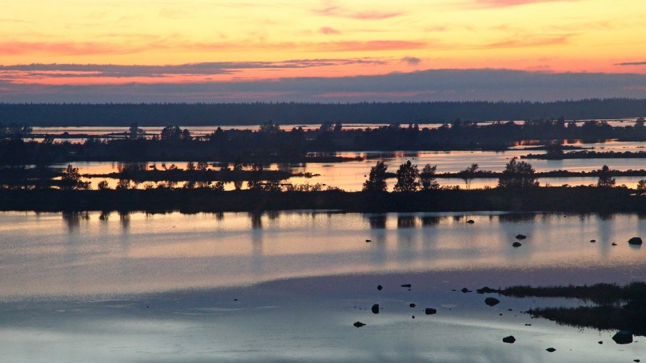 Outdoors Finland Kvarnen Sunset