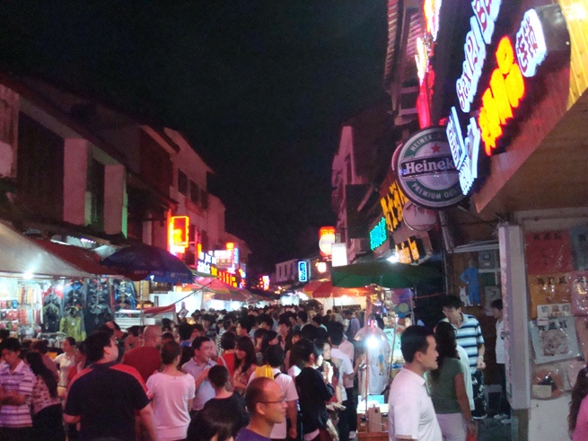 Guilin to Yangshuo night