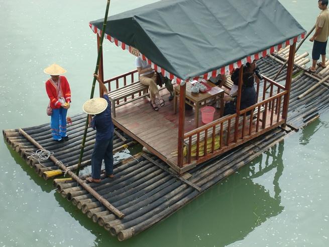 Guilin to yangshuo raft