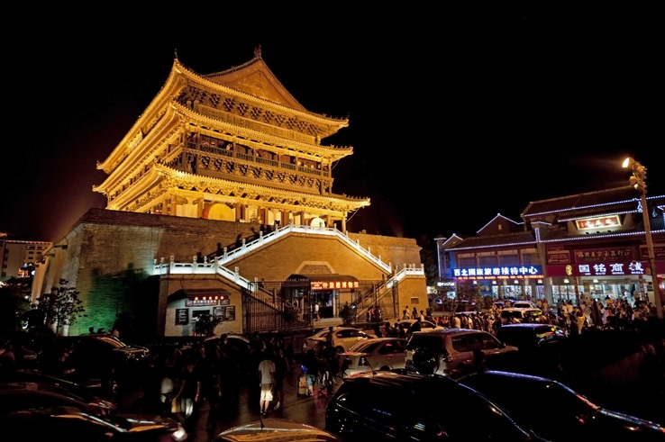 things to do in Xian Drum Tower