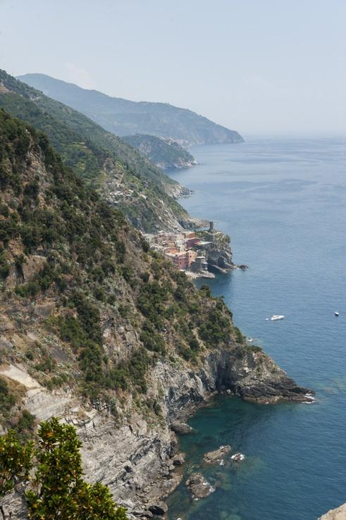 Cinque Terre by train Coast with Vernazza