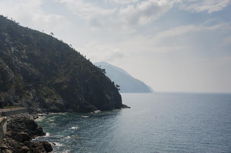 Cinque Terre Coastline