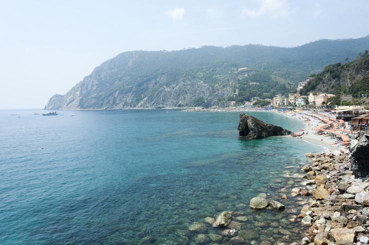 Cinque Terre by Train Monterosso Large