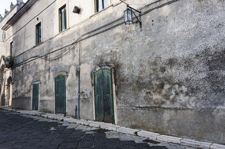 Monte Sant'Angelo Green Doors