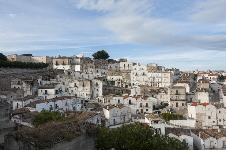 Puglia Monte Sant'Angelo view