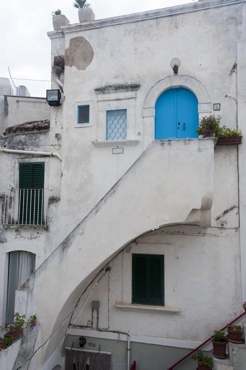 Monte Sant'Angelo Blue Door