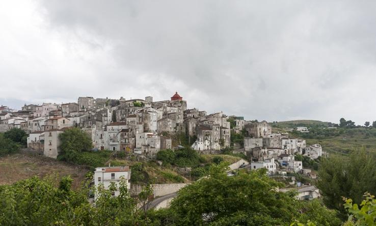 Vico Del Gargano panorama