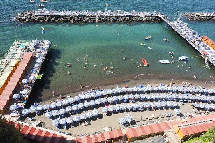 Italy Sorrento Beach