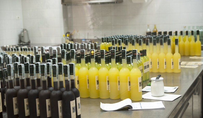 Sorrento Food Tour Limoncello Bottles