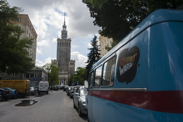 Adventure Warsaw Van palace