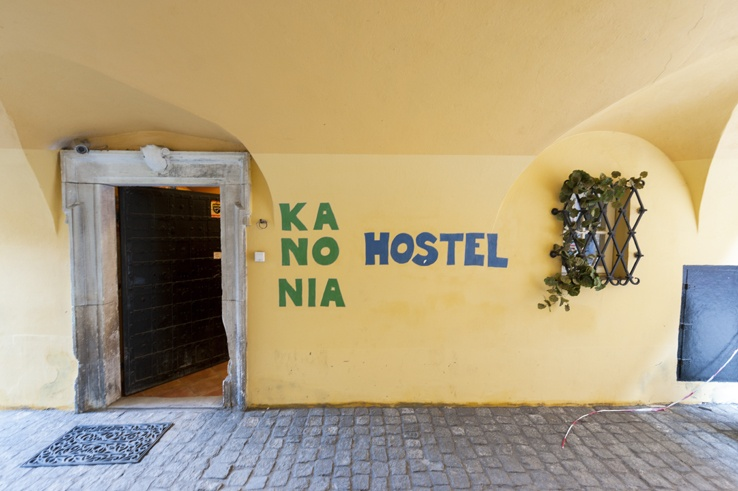 Kanonia Hostel Warsaw Entrance