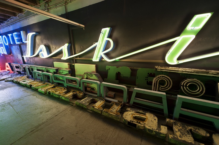 Warsaw Local Neon museum
