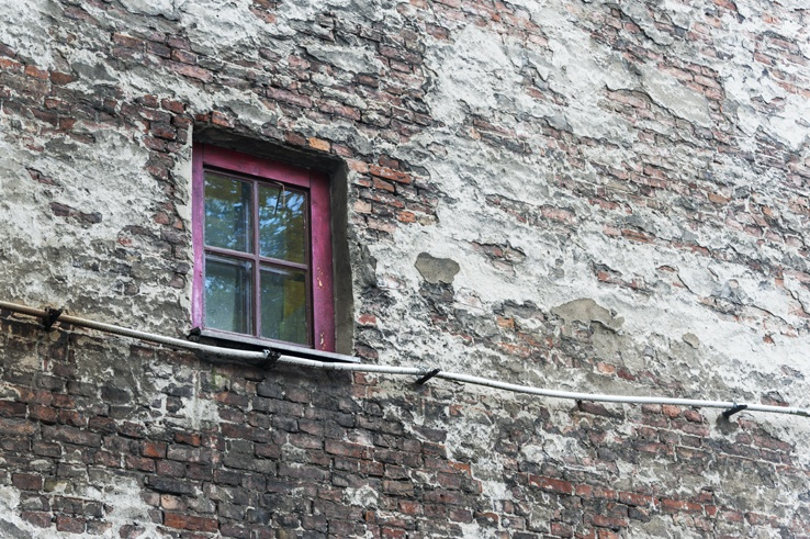 Warsaw Local Red Window
