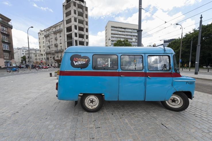 Adventure Warsaw Van