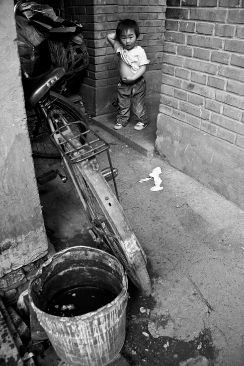 bike boy hutong beijing